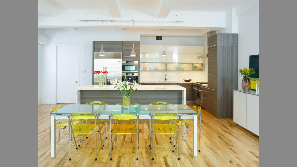 Stylish Laconic And Functional New York Loft Style: Chelsea Loft